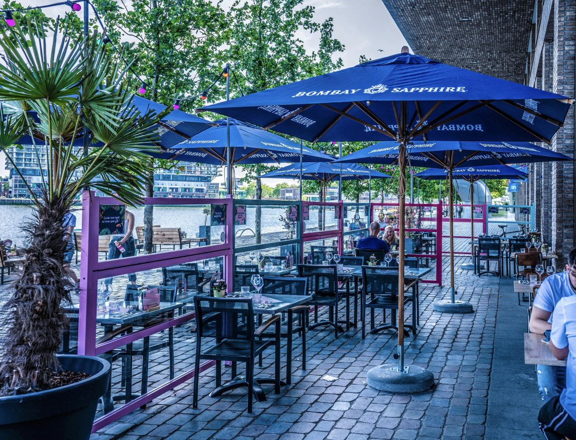by ami terrace bombay sapphire blue