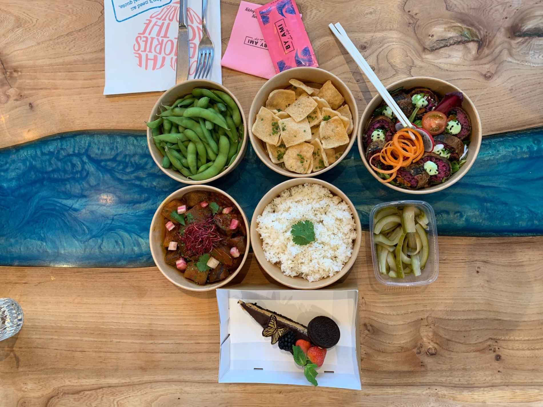 vegan menu box